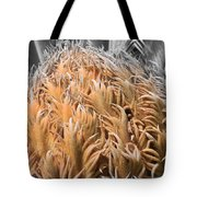Palm Flower Tote Bag