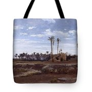Palm Forest In Elche Tote Bag
