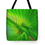Palm Frond Work A Tote Bag