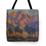 Palm Oasis At La Quinta Cove Tote Bag