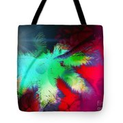 Palm Prints Tote Bag