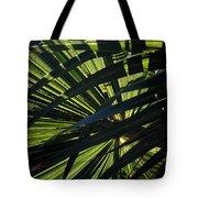 Palm Shadows Tote Bag