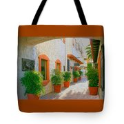 Palm Springs Courtyard Tote Bag