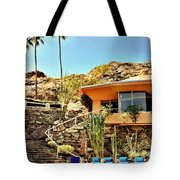 Palm Springs Pool Tote Bag