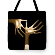 Palm Tickle Tote Bag