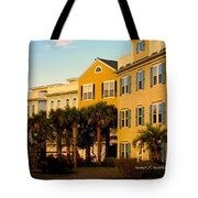 Palm Tree Beauty At Isle Of Palms Tote Bag