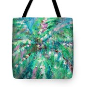 Palm Tree By Jan Marvin Tote Bag