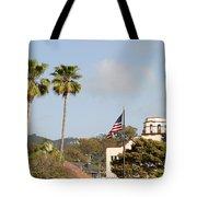 Palm Tree Flag Tote Bag