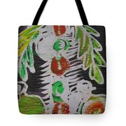 Palm Tree In The Bush.   Tote Bag