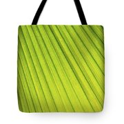 Palm Tree Leaf Abstract Tote Bag