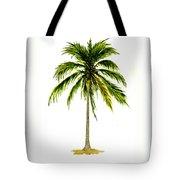 Palm Tree Number 2 Tote Bag