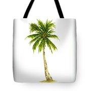 Palm Tree Number 4 Tote Bag