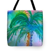 Palm Tree Study Tote Bag