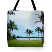 Palm Trees In Oahu Tote Bag