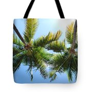 Palm Trees In Puerto Rico Tote Bag