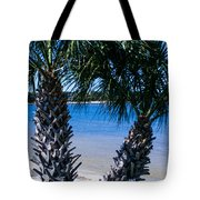 Palm Trees Of Gulf Breeze Tote Bag