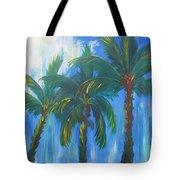 Palm Trio Tote Bag