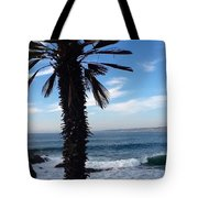 Palm Waves Tote Bag