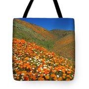 Palmdale Poppies Tote Bag