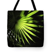 Palmetto And Rays Tote Bag