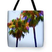 Palms 8 Tote Bag