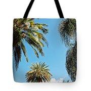 Palms In The Sky Tote Bag