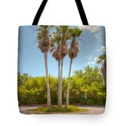 Palms Of Paradise Tote Bag