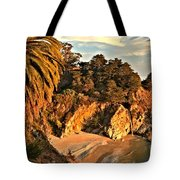 Palms Over Mcway Tote Bag by Adam Jewell
