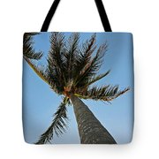 Palms Over My Head Tote Bag
