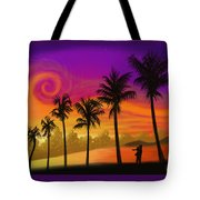 Palms Over St. Croix Tote Bag