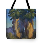 Palms With Skirts Tote Bag