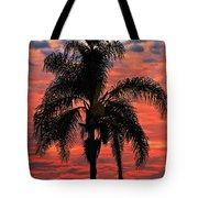 Palmtree Apocalypse Tote Bag