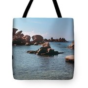 Palombaggia Beach And Rocks, Corsica Tote Bag