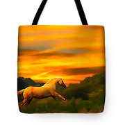 Palomino Pal At Sundown Tote Bag