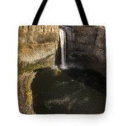 Palouse Falls With Rainbow Tote Bag