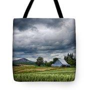 Palouse Farm And Steptoe Butte Tote Bag