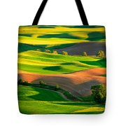 Palouse Fields - June Tote Bag