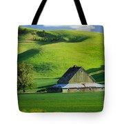 Palouse Grey Barn Tote Bag
