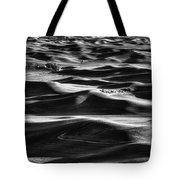 Palouse In Black And White Tote Bag