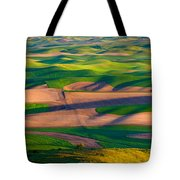 Palouse Ocean Of Wheat Tote Bag