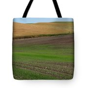 Palouse Patchwork 3 Tote Bag