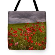 Palouse Poppies Tote Bag