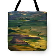 Palouse Shadows Tote Bag