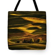 Palouse Sunset From Steptoe Butte Tote Bag