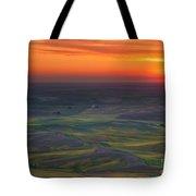 Palouse Sunset Tote Bag
