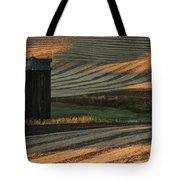 Palouse Sunset Tote Bag by Sandra Bronstein