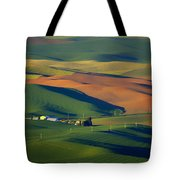 Palouse - Washington - Farms - 1 Tote Bag by Nikolyn McDonald