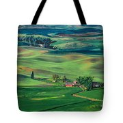 Palouse - Washington - Farms - 4 Tote Bag