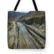 Pamir Alay Road Tote Bag