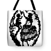 Pan And The Maiden Tote Bag